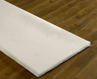 Deluxe Memory 4ft Mattress Topper
